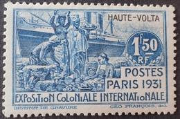 R3586/1195 - 1931 - COLONIES FR. - HAUTE VOLTA - N° 69 NEUF* - Neufs