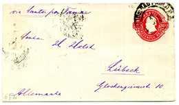 93 BRASILE Int. Postali Per Lubecca (Germania) - Brasile