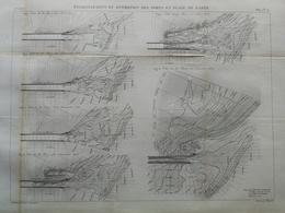 ANNALES PONTS Et CHAUSSEES - établissement Et Entretien Des Ports En Plage De Sable - Macquet - 1889 - (CLE27) - Public Works