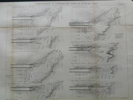 ANNALES PONTS Et CHAUSSEES - établissement Et Entretien Des Ports En Plage De Sable - Macquet - 1889 - (CLE28) - Travaux Publics