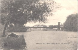 FR34 AGDE - MTIL 393 - L'Hérault Et Le Pont Suspendu - Belle - Agde