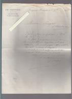 Creysse Par Mouleydier Dordogne - Lettre 1884 - Ch Granger Fabricant De Papier - France