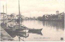 FR34 AGDE - MTIL 347 - Le Port - Bateaux De Pêche - Animée - Belle - Agde