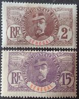 R3586/1199 - 1906 - COLONIES FR. - SENEGAL - N° 31 Et 35 NEUFS* - Neufs