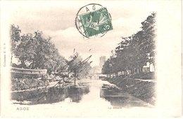 FR34 AGDE - EDB - Précurseur - Le Canal - Belle - Agde