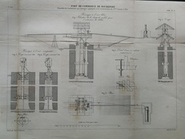 ANNALES PONTS Et CHAUSSEES (Dep 73) Port De Commerce De ROCHEFORT - E.Pérot - 1884 - (CLE30) - Public Works