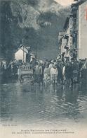 LES FOURNEAUX - ROUTE NATIONALE LES FOURNEAUX 20 JUIN 1908 COMMENCEMENT D'INONDATION - Autres Communes