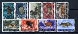1960 JUGOSLAVIA SET USATO - Used Stamps