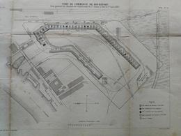 ANNALES PONTS Et CHAUSSEES (Dep 73) Port De Commerce De ROCHEFORT - E.Pérot - 1884 - (CLE31) - Travaux Publics