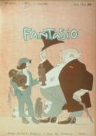 FANTASIO-1921-342-FRANCOIS De CUREL-FREDERIC MASSON MAISON THIERS - Libri, Riviste, Fumetti