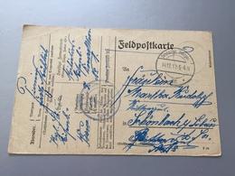 Feldpost 1.WK  1917 K.B. LANDWEHR EISENBAHN BAU KOMP.  Absender No 8 - Covers & Documents