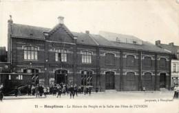 France - 59 - Houplines - Près De Armentières - Le Bizet & Comines-Warneton - Pérenchies - La Maison Du Peuple Et La Sal - Armentieres