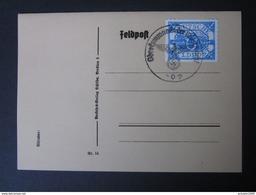 Feldpost U-Boot Hela Nr. 13 Gestempelt Auf Feldpostkarte - Nachdruck - Ohne Zuordnung