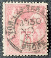 DF50478/445 - SAGE TYPE II N°81 - CàD De LYON LES TERREAUX (Rhône) - Cote : 150,00 € - 1876-1898 Sage (Type II)