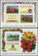FRANCE Blocs Feuillets ** - 15/16, Non Dentelés: Salon Du Timbres, Fleurs - Cote: 500 - Sheetlets