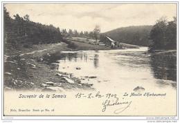 HERBEUMONT ..-- Nels 40 , N° 28 . Le MOULIN . 1909 Vers CHIMAY ( Melle Alice RARY? ) . Voir Verso . - Herbeumont