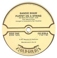 "Sandie Shaw  ""  Puppet On A String  "" - Vinyles"