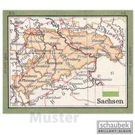 Schaubek Briefmarkengeographie Geographie-Wandkarte 75 Cm AF01-K75 - Timbres