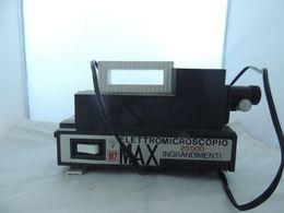 EPISCOPIO ELETTROMICROSCOPIO M2 MAX 20000 INGRANDIMENTI VINTAGE - Altre Collezioni