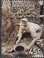 NEW ZEALAND 2006 Gold Rush - 45c Gold Panning, C. 1880s FU - Nouvelle-Zélande