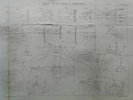 ANNALES DES PONTS Et CHAUSSEES - Résistance Des Voûtes En Maçonnerie - Macquet -1887 (CLE44) - Travaux Publics