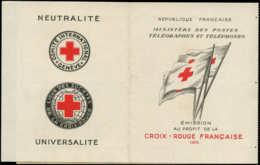 FRANCE Carnets Croix Rouge ** - 2004, Carnet De 10, Année 1955 - Cote: 450 - Postzegelboekjes
