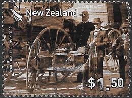 NEW ZEALAND 2006 Gold Rush - $1.50 - Last Otago Gold Escort At Roxburgh, 1901 FU - Nouvelle-Zélande