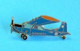 1 PIN'S //   ** AVION / NORD 3400 NORBARBE / GENDARMERIE NATIONALE ** . (J. Y. Ségalen Collection) - Army