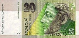 Slovakia 20 Korun 2001 Pick 20e UNC - Slowakei
