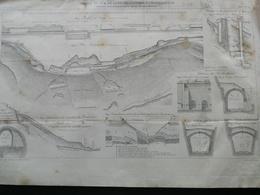 ANNALES DES PONTS Et CHAUSSEES (Dep 39) - Chemin De Fer De Lons-le-Saunier à Champagnole - Macquet -1893 (CLE45) - Travaux Publics