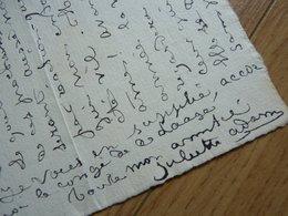 Juliette ADAM (1836-1936) Ecrivaine. Polémiste. FEMINISME - AUTOGRAPHE - Autographes