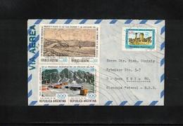 Argentina  Interesting Airmail Cover - Briefe U. Dokumente