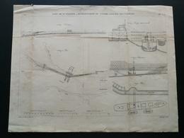 ANNALES DES PONTS Et CHAUSSEES (Dep 44) - Pont De St-Nazaire - E.Pérot -1881 (CLE47) - Travaux Publics
