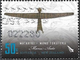 NEW ZEALAND 2010 Traditional Kites - Manu Tukutuku - Matariki - 50c Manu Aute FU - Nouvelle-Zélande