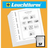 LEUCHTTURM SF-Vordruckalbum Großbritannien 1971-1989, Inkl. Schutzkassette, Grün - Albums & Binders