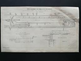 ANNALES DES PONTS Et CHAUSSEES (Dep 71) - Gares De Raccordement (Digoin) -1903 (CLE48) - Public Works