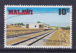 Malawi 1979 Mi. 325    10 T Eröffnung Der Eisenbahnlinie Salima-Lilongwe - Malawi (1964-...)