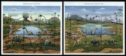 Dominica 1999 - Mi-Nr. 2661-2678 ** - MNH - Prähistorische Tiere - Dominica (1978-...)