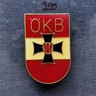 Badge Pin ZN008281 - Military (Army) Austria ÖKB Österreichischer Kameradschaftsbund - Militaria