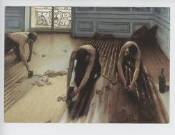 Gustave Caillebotte 1848/1894 : Les Raboteurs De Parquet 1875 (art Tableaux) Cp Vierge - Ambachten