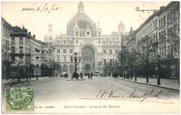 ANVERS - Gare Centrale - Avenue De Keyser - Antwerpen