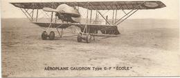 AEROPLANE CAUDRON TYPE G-F ECOLE - 1919-1938: Entre Guerras