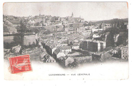 LUXEMBOURG  Vue Générale - Luxemburg - Stad