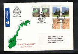 Norway 1996 Interesting FDC - Norwegen