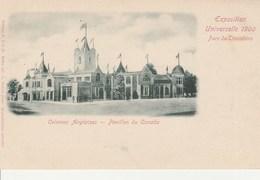 PARIS Exposition Universelle 1900 Pavillon Du Canada 64L - Expositions
