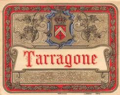 """D9254"""" TARRAGONE """".  ETICHETTA ORIGINALE. - Altre Collezioni"""