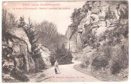 La Route D'Echternach - Berdorf Traverse Les Rochers - Postkaarten