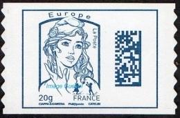 France Marianne De Ciappa Et Kawena Autoadhésif N° 1176,** Datamatrix Europe FOND BLANC (PRO) Première Génération - 2013-... Marianne Of Ciappa-Kawena