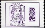 France Marianne De Ciappa Et Kawena Autoadhésif N° 1177 ** Datamatrix Monde FOND BLANC (PRO) - 2013-... Marianne (Ciappa-Kawena)