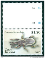 """Cook 2013  """" Coléoptère / Beetle    """" Mnh*** - Insectes"""